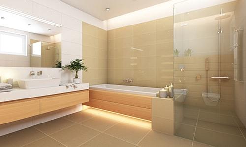 Łazienka- zabezpieczenie podłogi